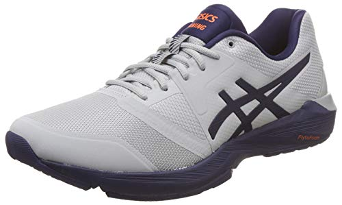 ASICS Men's Gel-Quest Ff Mid Grey/Peacoat Multisport Training Shoes-8 UK/India (42.5 EU) (9 US) (1031A003.020)