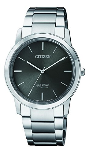 Citizen Orologio Cronografo Solare da Donna con Cinturino in Titanio FE7020-85H
