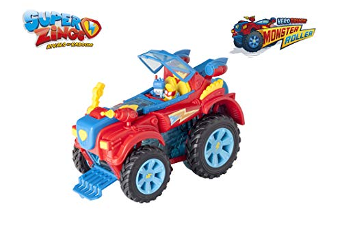 SuperZings- PlaySet Heroe Truck Giocattolo, Colore Assortiti, PSZSD112IN00