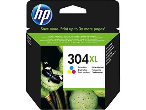 HP 304XL N9K07AE Cartuccia Originale, ad Alta Capacità, da 300 Pagine, per Stampanti a Getto di...