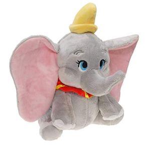 Ylone Peluches Niños Presenta Dulce Lindo Dumbo Elefante Peluches Peluches para Bebé Muñeco de Peluche Regalo para Niños 25 CM