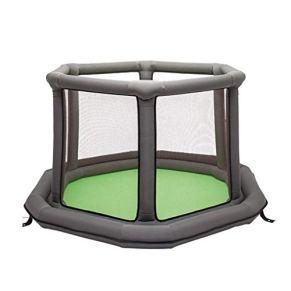 LHR888 Juego de cercas para niños Cerca Inflable Cerca de Seguridad para Interiores Cercas Plegables Área de Juegos para…