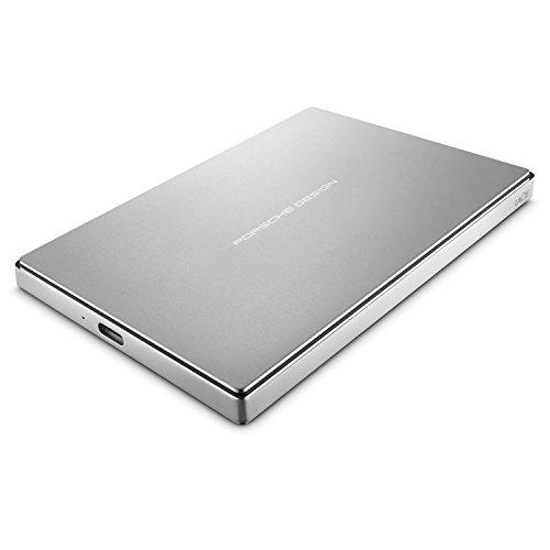 LaCie STFD1000400 Porsche Design Mobile Drive 1 To - disque dur externe mobile - Argent