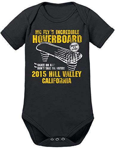 TShirt-People Hoverboard California Baby Body Nero 9 Mesi