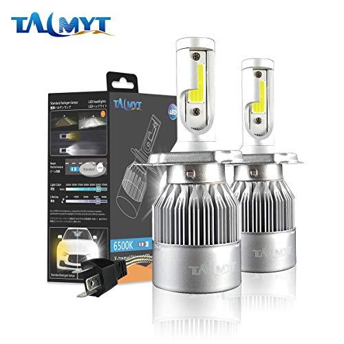 H4 LED Headlight Bulbs 72W 8000lm 6500K White All-in-One Conversion Kit 12v Auto Headlamp fog lamp