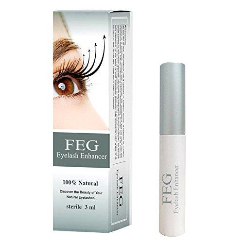 FEG Eyelash Enhancer Growth Serum 3ml 2015 Anti Counterfeit Box **AUTHENTIC