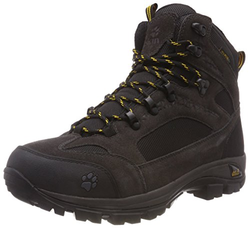 Jack Wolfskin All Terrain 8 Texapore Mid M, wasserdichte & atmungsaktive Wanderschuhe für Herren, schnelltrocknende Outdoor Schuhe, stabiler & leichter Outdoor Schuh
