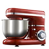 HWL Mixer, 1200W 4L Edelstahlnapf 6-Gang-Küche Essen Küchenmaschine Creme Egg Whisk Blender Kuchen Teig-Brot Mixer-Hersteller-Maschine