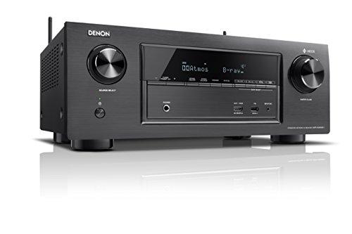 Denon X Series AVR-X2400H 7.2 Channel AV Surround Receiver with Heos (Black)