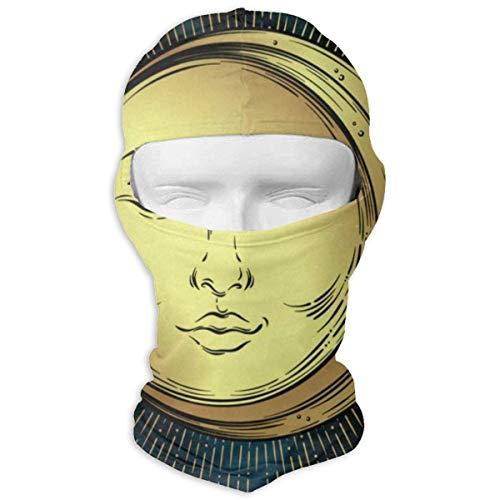 Sdltkhy Balaclava Wild Ocean Sea Aquatic World Animals Fish Full Face Masks UV Protection Ski Hat...