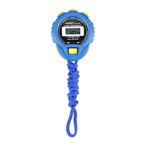 DGdolph KD-6128 Cronografo Timer Digitale Cronometro Sport Contachilometri Orologio Blu