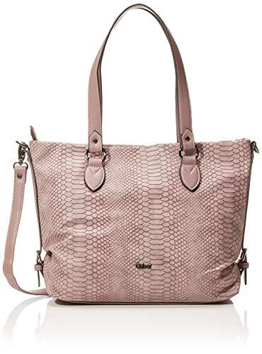 Gabor Shopper Damen Romana, Pink (Old Rosé), 36x25x10 cm, Gabor Tasche Damen