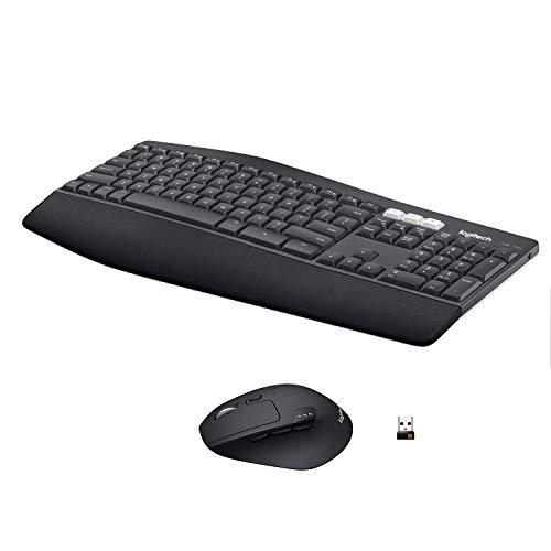 Logitech MK850 Performance Kabellose Tastatur und Maus Combo (USB, Bluetooth) QWERTZ Deutsches layout