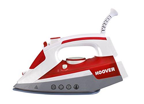 Hoover IRONJET TIM 2500 Ferro da stiro a secco e a vapore Ceramica 2500W Grigio, Rosso, Bianco