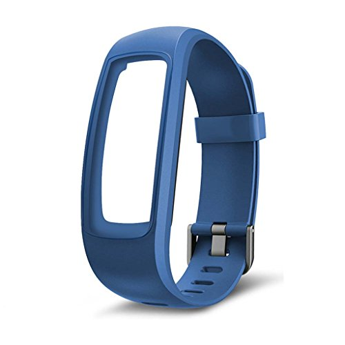siwetg - Cinturino di Ricambio per smartwatch ID107 Plus Blu
