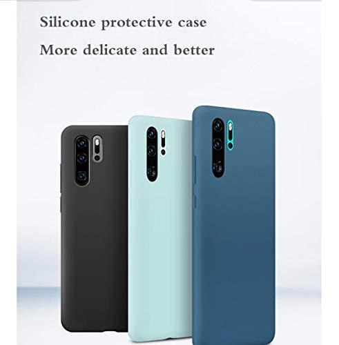 WLWLEO Coque de Protection en Silicone pour Huawei P30 Pro, Coque de Protection pour Huawei Original pour téléphone Portable Design Fashion ... 26