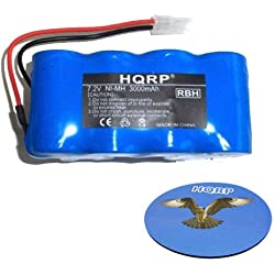 HQRP Akku 3000mAh für APS Carpet Cleaner XB1918, euro-pro Shark V1950VX Elektrische Kehrmaschine Wireless; Ersatz