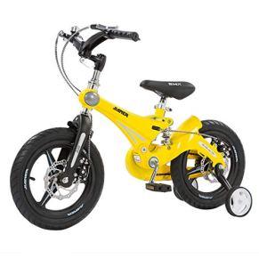 Bicicleta para niños 2-11 años Amortiguador Bicicleta para niños con Freno 12/14/16 Pulgadas Bicicleta para niño con Rueda Auxiliar