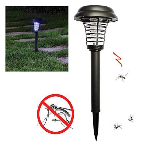Confezione da 2 lampade solari UV per esterni, impermeabili, mosche, zanzare, insetti e luci da...
