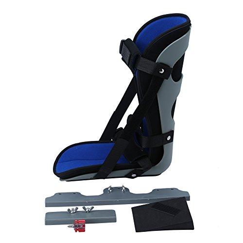 Doact Drop Fußschiene für die Nacht-Unterstützung und Barfuß, verstellbare Orthesen Brace für Plantarfasziitis, Achillessehne und Fersenschmerzen, Fit für den linken und rechten Fuß für Mann und Frau(S)