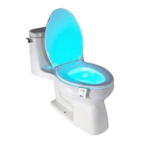 multicolore led capteur de mouvement activ toilettes lumi re xff0 c pour une vie color. Black Bedroom Furniture Sets. Home Design Ideas