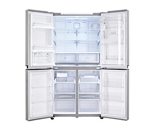 LG GMM916NSHV Frigo-Congelatore (Libera installazione, Porta americana, LED, Touch), Acciaio...
