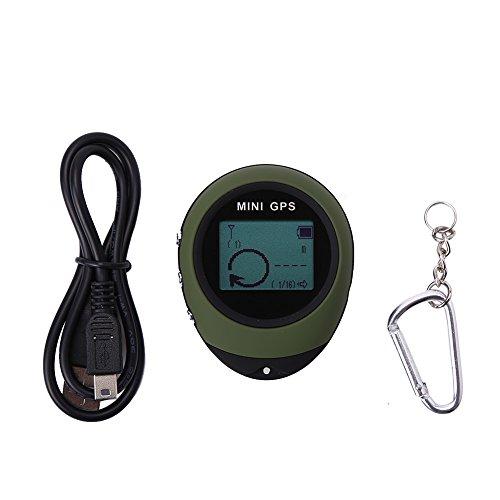 VGEBY Mini Rastreador de GPS Impermeable Locador Portátil Navegador GPS para Senderismo Camping Caza
