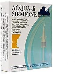 Terme di Sirmione Acqua Di Sirmione Minerale Naturale 6 Flaconcini Da 15 ml