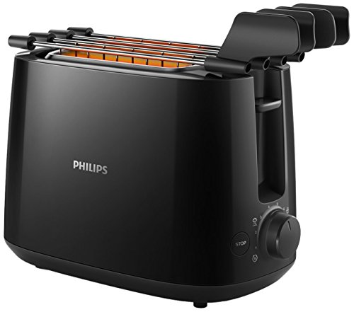 Daily Collection Philips HD2583/90 Tostapane con Pinza per Sandwich, 600 W, 8 Livelli di Tostatura,...