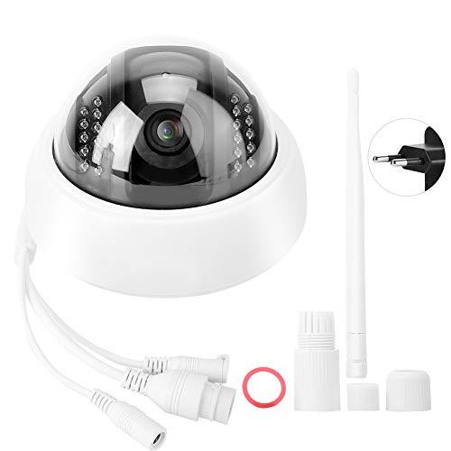 BTIHCEUOT 960P HD Monitor Senza Fili a Prova di Esplosione per Telefono Wireless con Telecamera WiFi 12V DC/100-240V(Spina UE)