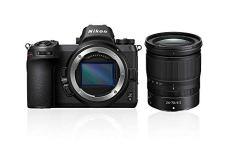 """Nikon Z6 - Cámara sin Espejos de 24.5 MP (Pantalla LCD de 3.2"""", Sensor CMOS, resolución 4K/UHD, WiFi, Bluetooth) Negro - Kit Cuerpo con Objetivo Zoom NIKKOR Z 24–70mm f/4 S"""
