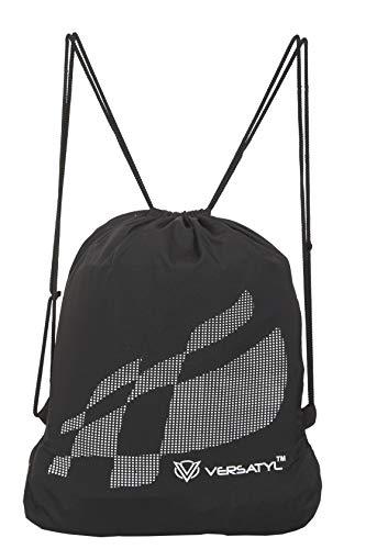 VERSATYL Polyester Drawstring Bag(Black)