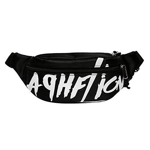 HOSPORT Canvas Belt Zipper Chest/Waist Bag