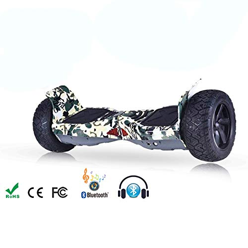 DingD Scooter Elettrico Auto-Balance Hoverboard Scooter Elettrico Intelligente Skateboard Auto...