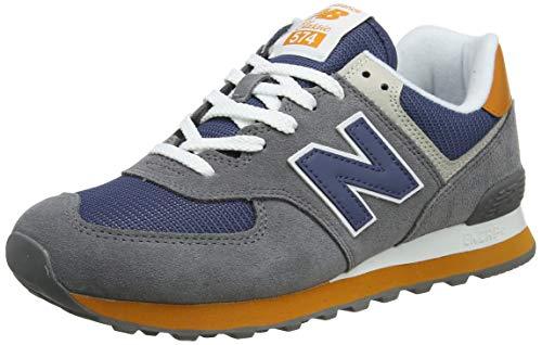 New Balance Herren 574v2 Sneaker Grey Castlerock, 42 EU