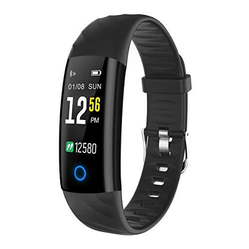 ELEGIANT Fitness Tracker, Orologio Braccialetto Bluetooth Gran Schermo Colori Impermeabile IP68 5...