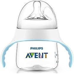 Philips Avent Natural SCF251/00 - Biberón de transición, 4m+
