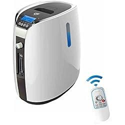 LIQICAI Inteligente Concentrador de oxígeno Casa Generador de oxígeno 0.6-9L / Min Alta purificación Anión Salida Monitoreo en tiempo real Diseño de almacenamiento