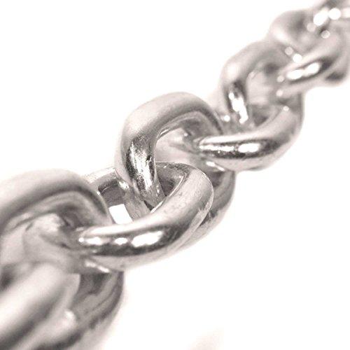 Seilwerk STANKE 5m 4mm RUNDSTAHLKETTE kurzgliedrig verzinkt Stahlkette -- DIN Eisenkette Stahl Eisen Kette abgerundet