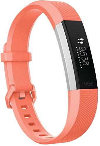 Fitbit - Alta HR - Bracelet d'Activité - Mixte Adulte - Orange (Coral) -...