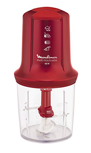 Moulinex AT712G, Rojo, Plástico, Acero inoxidable - Robot de cocina