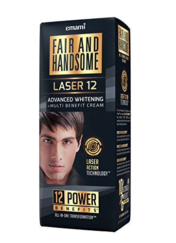 Fair & Handsome Laser 12 Advanced Whitening Multi Benefit Cream, 60g
