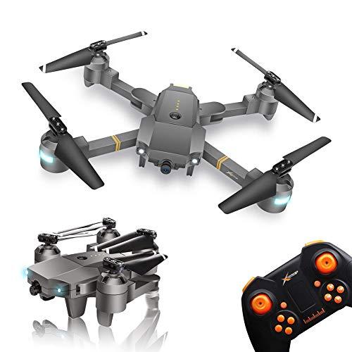 Drone Pieghevole con Telecamera XT-1 WINGLESCOUT RC Quadcopter Pieghevole Telecamera HD 720P...