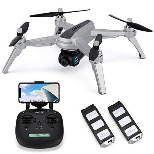 Drone GPS JJRC JJPRO X5 Wifi con videocamera HD 2K Video live e GPS Ritorno a casa Quadricottero con motore brushless e videocamera regolabile a 90 °, Seguimi, Flight Surround Me, Long Control Range