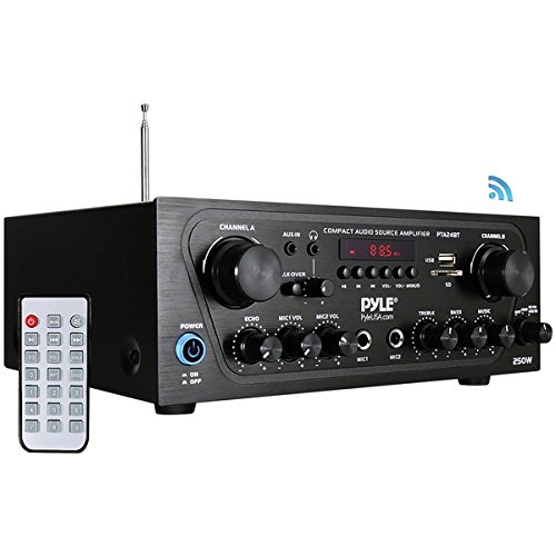 Pyle Home(r) PYLE HOME(R) Cmpct Blth Audio Amp Home A/V Components