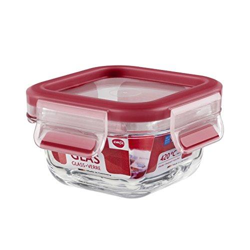 Conservador Hermético de Cristal de borosilicato, higiénico, no retiene olores ni sabores 100% libre de BPA