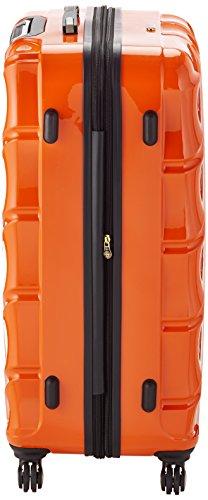 Shaik 7203075 Trolley Koffer, 2er Set (L, XL), orange -
