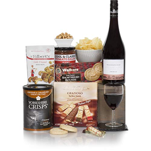 Red Wine Gift Hamper For Him - Men