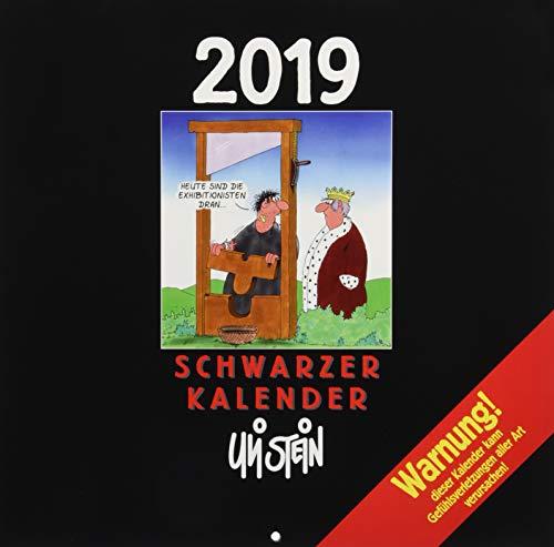 Uli Stein Schwarzer Kalender 2019