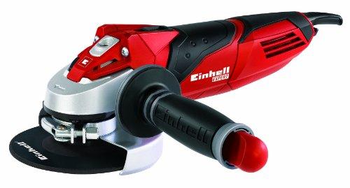 Einhell TE-AG 125/750 Winkelschleifer, 750 W, Scheiben-Ø 125 mm, Schlüssel im Zusatzhandgriff, ohne Trennscheibe